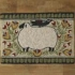 Folk Sheep Hooked Rug preview image