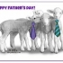 Father's Day Whisper Lambs Cards preview image