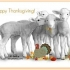 Thanksgiving Whisper Lambs Cards preview image