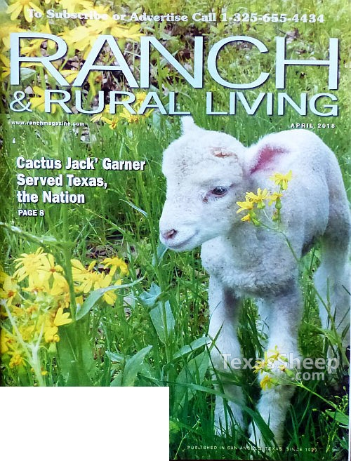 April 2018 Cover of Ranch & Rural Living Magazine cover image