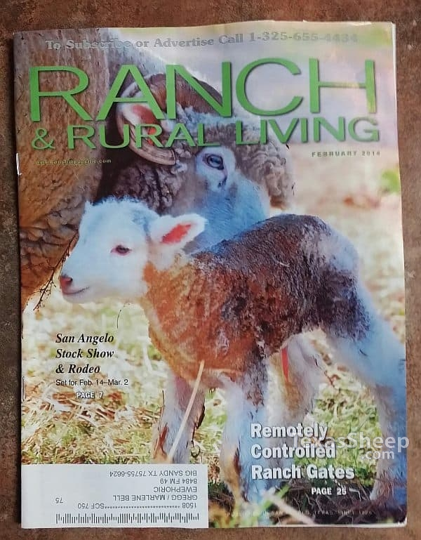 February 2014 Issue of Ranch & Rural Living Magazine cover image