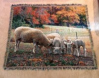 Ewephoric Fall Sheep Tapestry product image