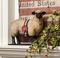 Suffolk Sheep Figurine product image